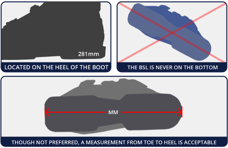 How to Find your Boot Sole Length