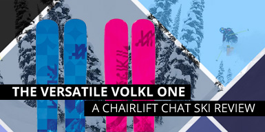 The Versatile Volkl One: A Ski Review -  Intro Image