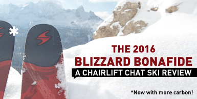 2016 Blizzard Bonafide Ski Review: Now with Carbon!: Intro Image
