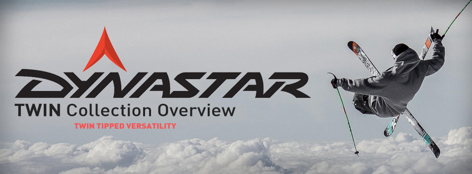 2016 Dynastar TWIN Ski Collection Overview: Twin Tipped Versatility: Lead Image