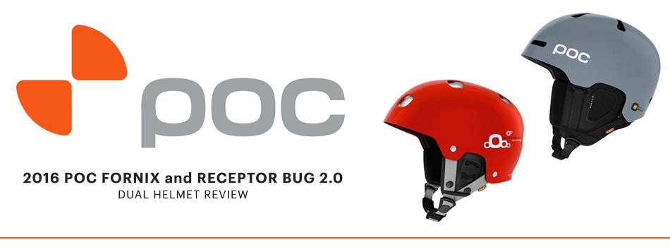POC Fornix and POC Receptor Bug 2.0 Helmet Dual Product Review: Lead Image