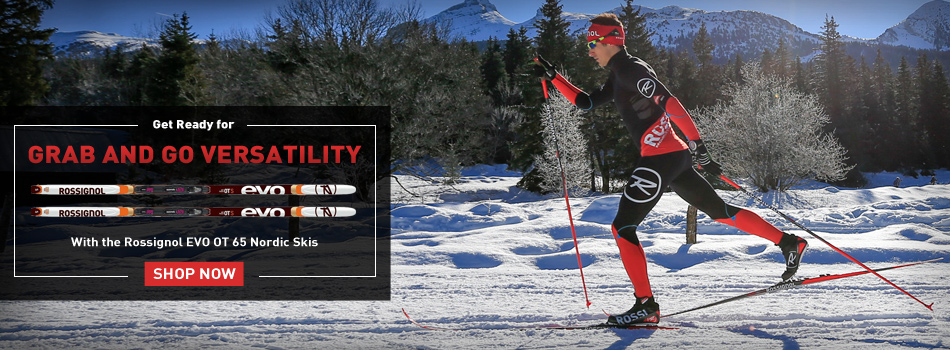 2016 Rossignol EVO OT 65 Nordic Skis: Grab and Go Versatility: Shop Now