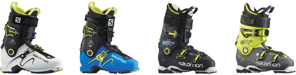2016 Salomon Ski Boots: Product Line Overview: Salomon Touring Boot Line