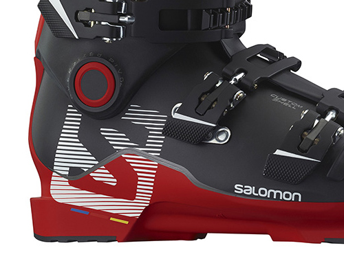 2016 Salomon Ski Boots: Product Line Overview: Twinframe Shell Closeup