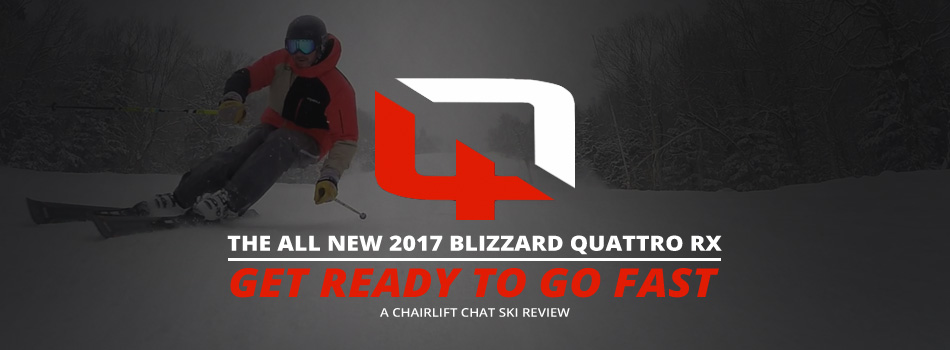 2017 Blizzard Quattro RX Ski Review: Lead Image