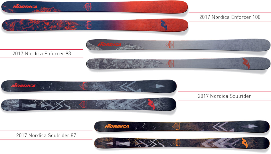2017 Nordica Mens Ski Overview: New Faces and Old Favorites: Freeride Series