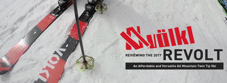 2017 Volkl Revolt Skis: An Affordable All Mountain Freestyle Ski: Lead Image