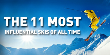 The 11 Most Influential Skis of All Time: Intro Image