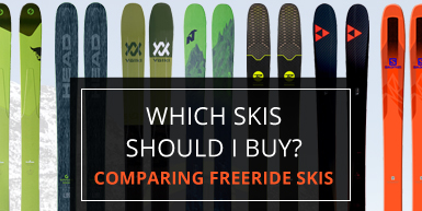 Which Skis Should I Buy? Comparing Freeride Skis -  Intro Image