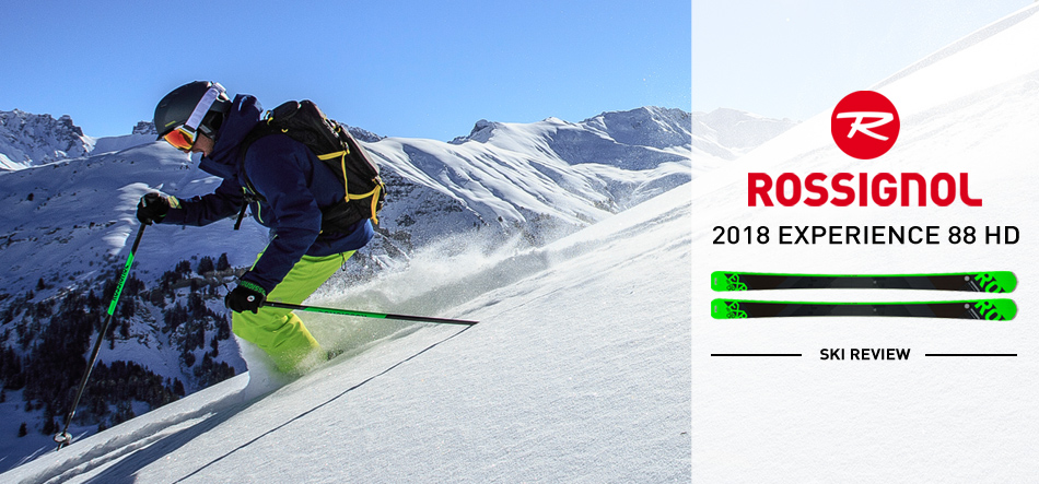 2018 Rossignol Experience 88 HD Ski Review: Approachable, Yet Capable : Lead Image