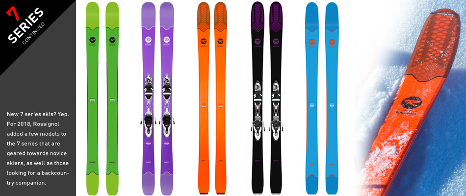 2018 Rossignol Ski Preview: A Comprehensive Gear Guide: 7 Ski Series Continued