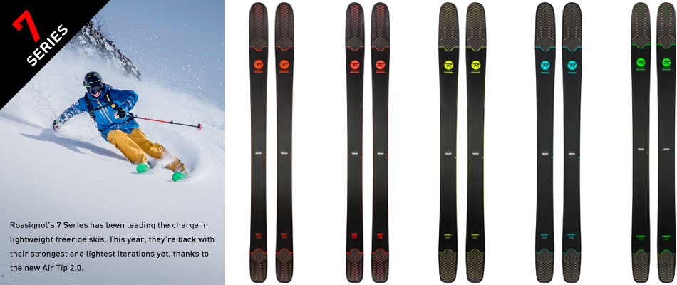 2018 Rossignol Ski Preview: A Comprehensive Gear Guide: 7 Ski Series