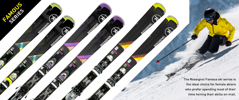 2018 Rossignol Ski Preview: A Comprehensive Gear Guide: Famous Women's Ski Series