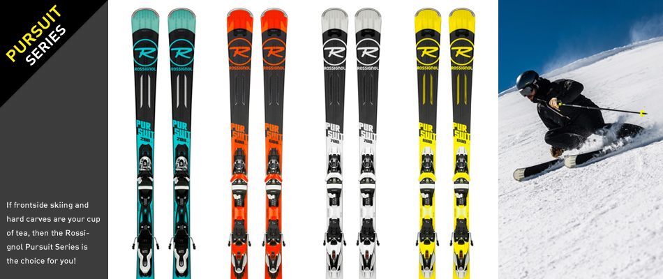 2018 Rossignol Ski Preview: A Comprehensive Gear Guide: Pursuit Ski Series