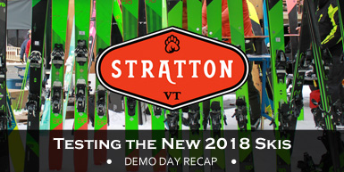 Demo Day Recap: Testing the New 2018 Skis at Stratton: Intro Image