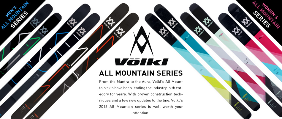 2018 Volkl Ski Guide: A Complete Overview: All Mountain Series