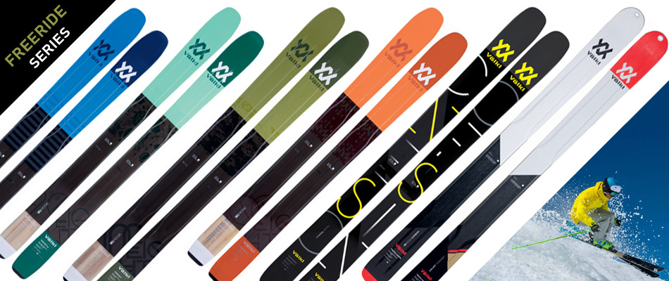 2018 Volkl Ski Guide: A Complete Overview: Freeride Ski Series