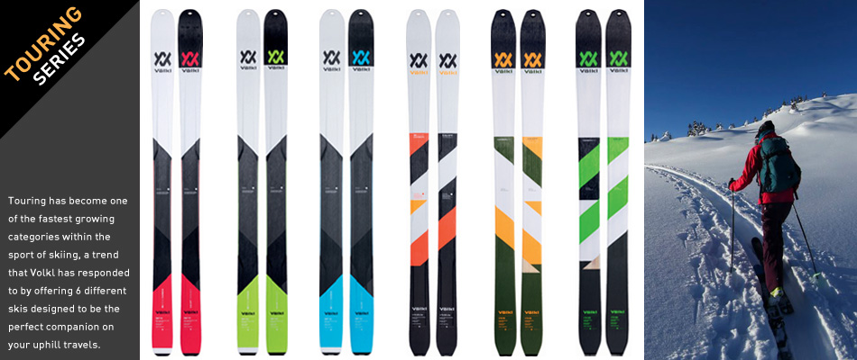 2018 Volkl Ski Guide: A Complete Overview: Touring Ski Series