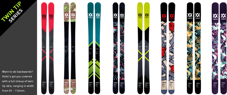 2018 Volkl Ski Guide: A Complete Overview: Twin Tip Skis