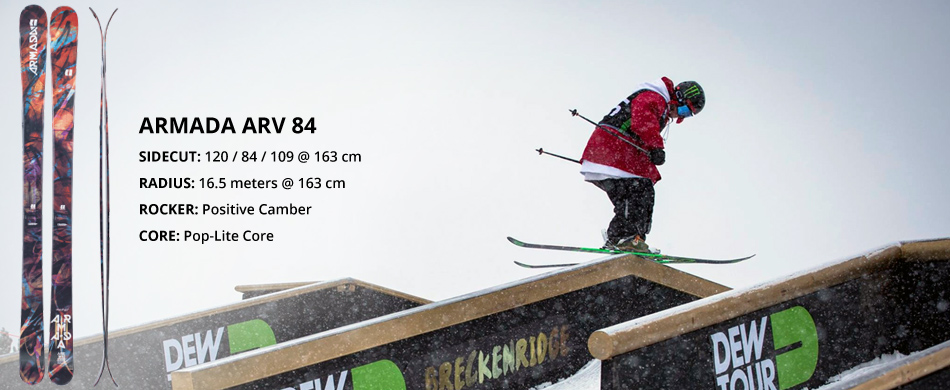 Armada Skis Brand Highlight and Product Overview: ARV 84 Ski Overview