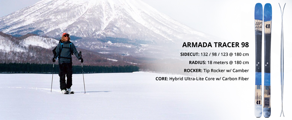 Armada Skis Brand Highlight and Product Overview: Tracer 98 Ski Overview