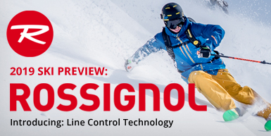 2019 Rossignol Ski Guide: Introducing Line Control Technology -  Intro Image