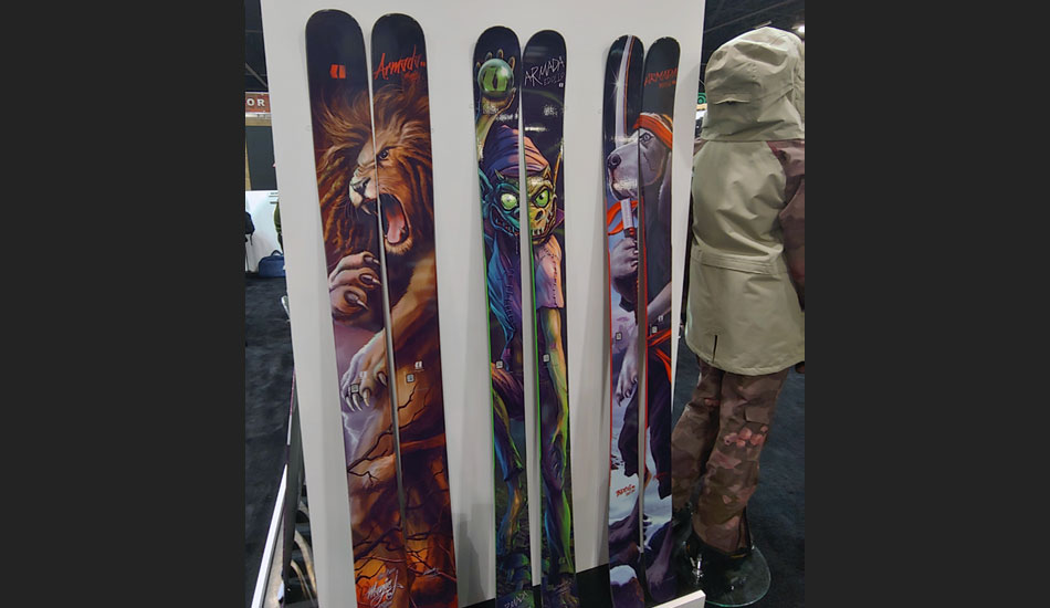 2019 Outdoor Retailer Snow Show Recap: Ski Preview - 2020 Armada Signature Series Skis