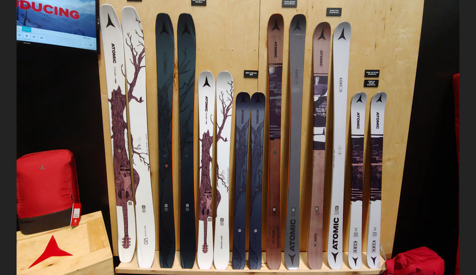 2019 Outdoor Retailer Snow Show Recap: Ski Preview - 2020 Atomic Bent Chetler and Punx Skis
