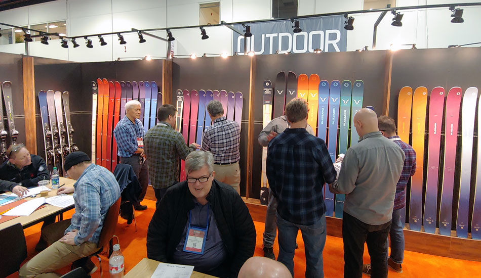 2019 Outdoor Retailer Snow Show Recap: Ski Preview - 2020 Blizzard Skis Booth