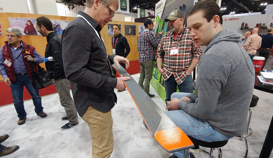 2019 Outdoor Retailer Snow Show Recap: Ski Preview - 2020 Elan Mini Clinic