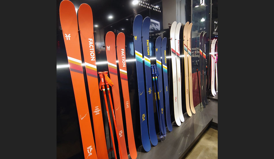 2019 Outdoor Retailer Snow Show Recap: Ski Preview - 2020 Faction Skis 2