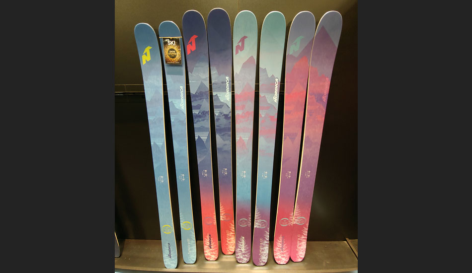 2019 Outdoor Retailer Snow Show Recap: Ski Preview - 2020 Nordica Santa Ana Skis
