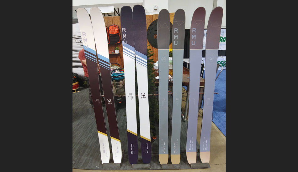 2019 Outdoor Retailer Snow Show Recap: Ski Preview - 2020 RMU YLE and North Shore Skis