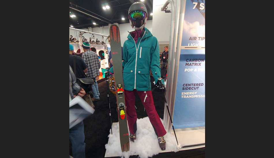 2019 Outdoor Retailer Snow Show Recap: Ski Preview - 2020 Rossignol Savory 7 Display