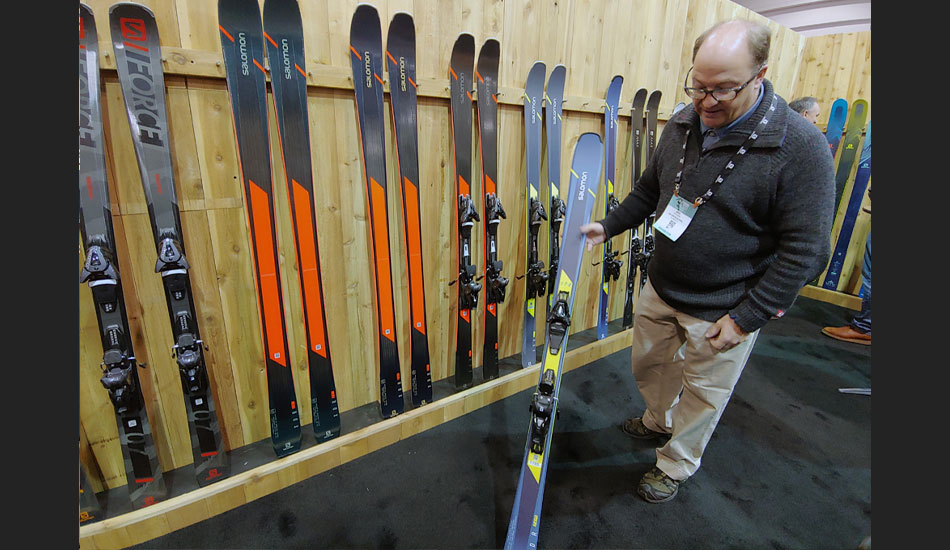 2019 Outdoor Retailer Snow Show Recap: Ski Preview - 2020 Salomon in Booth Clinic