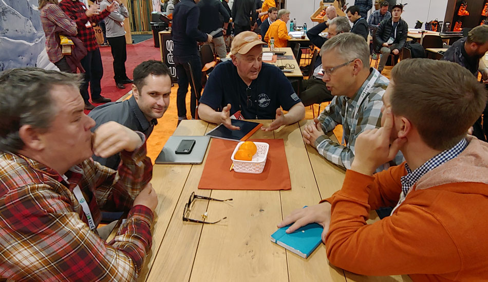 2019 Outdoor Retailer Snow Show Recap: Ski Preview - 2019 Outdoor Retails Snow Show SkiEssentials Team Meeting 2