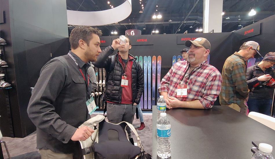 2019 Outdoor Retailer Snow Show Recap: Ski Preview - 2019 Outdoor Retails Snow Show SkiEssentials Team Meeting 3