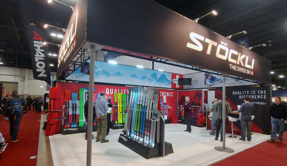 2019 Outdoor Retailer Snow Show Recap: Ski Preview - 2020 Stockli Skis Booth