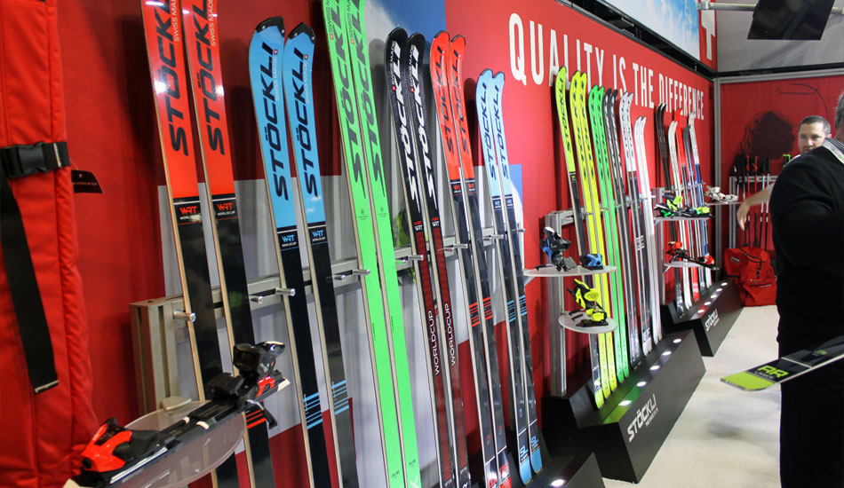 2019 Outdoor Retailer Snow Show Recap: Ski Preview - 2020 Stockli Race Skis Booth