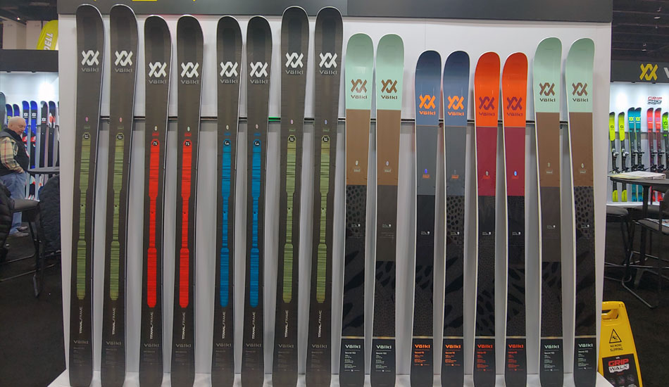 2019 Outdoor Retailer Snow Show Recap: Ski Preview - 2020 Volkl Eight Skis 2