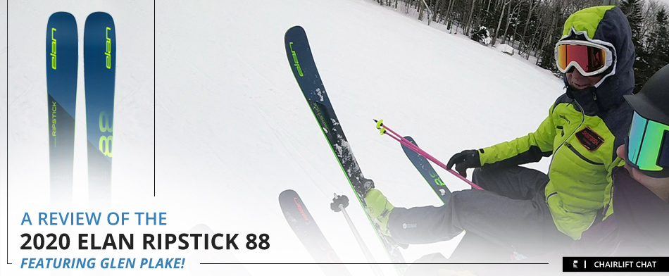 2020 Elan Ripstick 88 Ski Review: Lead Image