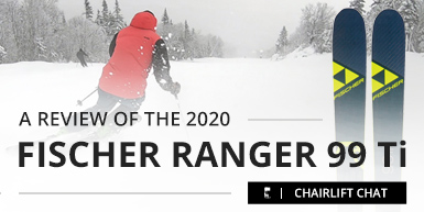 2020 Fischer Ranger 99 Ti Ski Review -  Intro Image