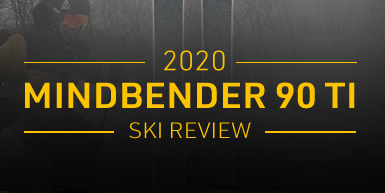 2020 K2 Mindbender 90 Ti Ski Review -  Intro Image
