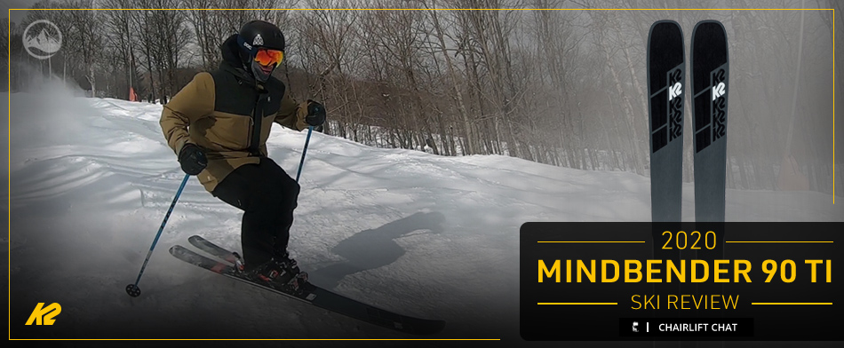 2020 K2 Mindbender 90 Ti Ski Review: Lead Image