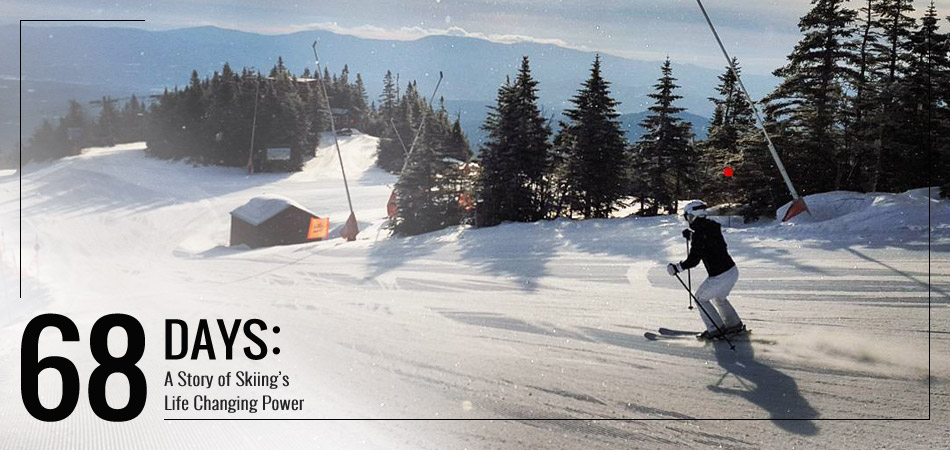 68 Days: A Story About Skiing's Life Changing Power: Lead Image