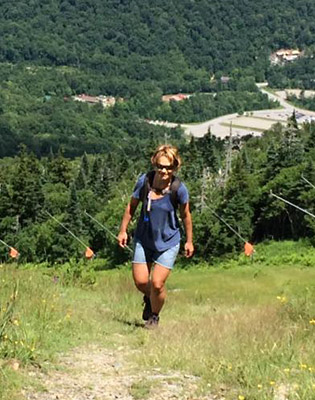 68 Days: A Story About Skiing's Life Changing Power: Summer Time Hiking Sidebar IMG