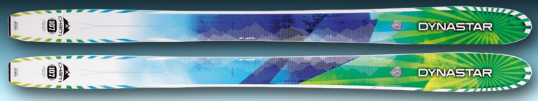 2013 Dynastar Cham 107 Skis Spec Sheet Middle