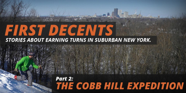 First Decents: Part 2 - Cobb's Hill: Intro Image
