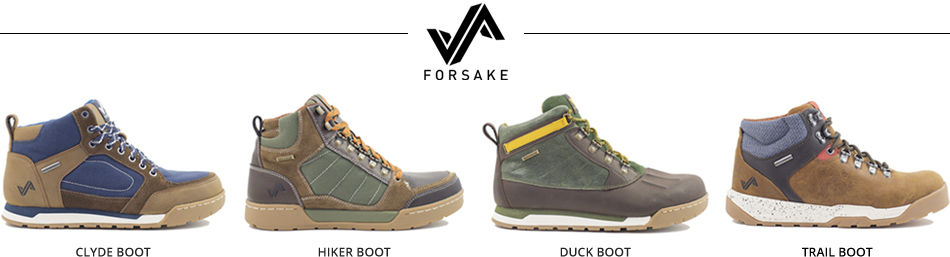 Forsake Boots: The Convergence of Fashion and Function: Sneakerboot Lineup Image