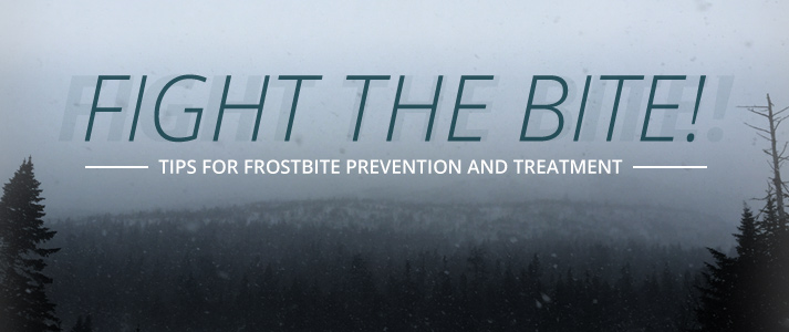 Fight the Bite! Tips for Frostbite Prevention and Treatment: Lead Image